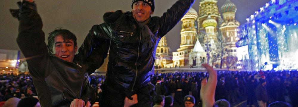 Новый год для множества народов в Москве