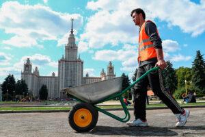 Мигранты из Таджикистана в Москве