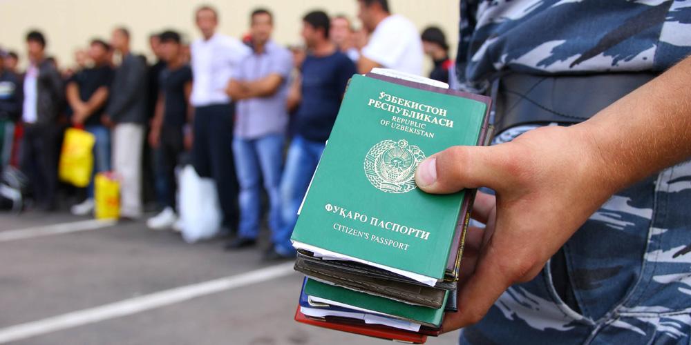 Граждане Узбекистана получат право пребывать на территории РФ без оформления регистрации порядка 15 дней
